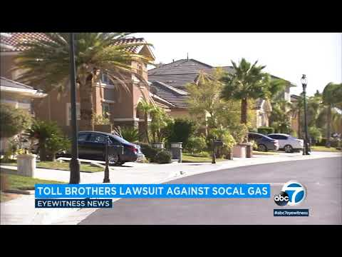 Home builder sues SoCal Gas over Porter Ranch leak | ABC7