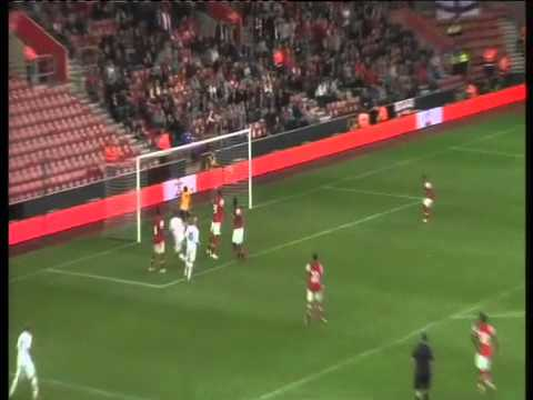 GOAL: Saints 1-0 Arsenal (Rodriguez)