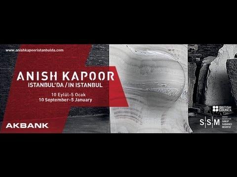 Konferans:  Anish Kapoor'dan sanatını dinleyin / 10 Eylül 2013