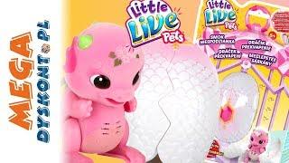 Little Live Pets • Smok & jajko • Otwieram zabawki od Cobi