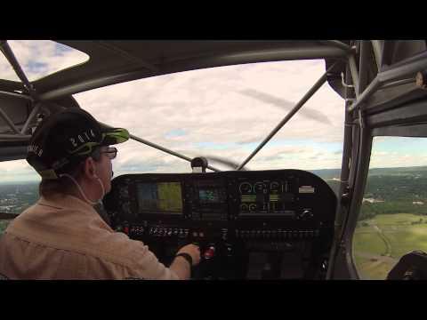 Flight #32 - Takeoff from Hartford Brainard Airport