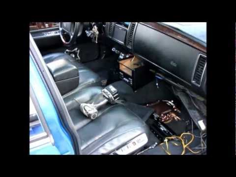 Cadillac Fleetwood Brougham AUDIO CUSTOM 2010727 YTECH YouTube