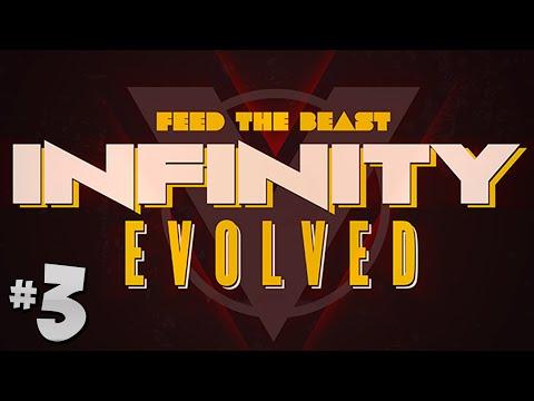 FTB Infinity Evolved - Ep.3 - The Blast Furnace & Steel!