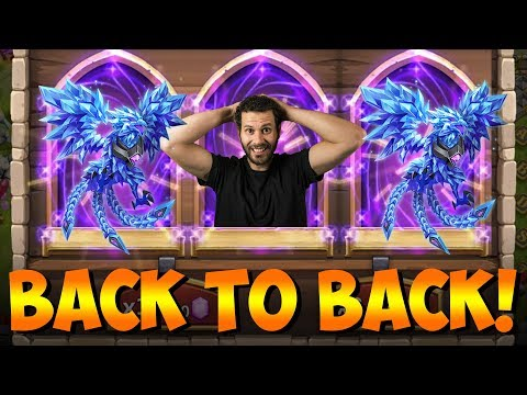 Rolling TWO Lazulix BACK TO BACK! INSANE Session Castle Clash