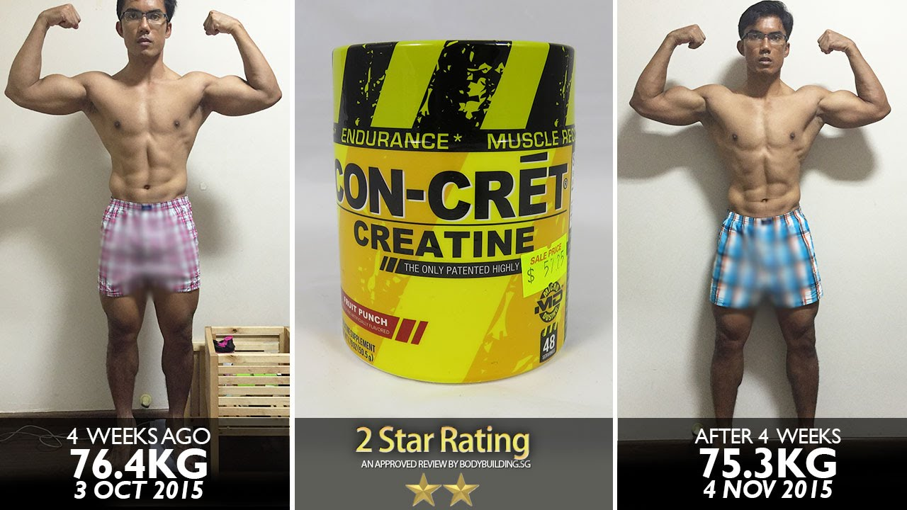 Creatine And After