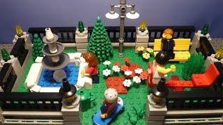 LEGO САМОДЕЛКА #23 | Парк отдыха / Park(Как построить парк отдыха из лего? Если вы восхитительный строитель и проектируете свой лего-город, то..., 2015-11-03T07:56:35.000Z)