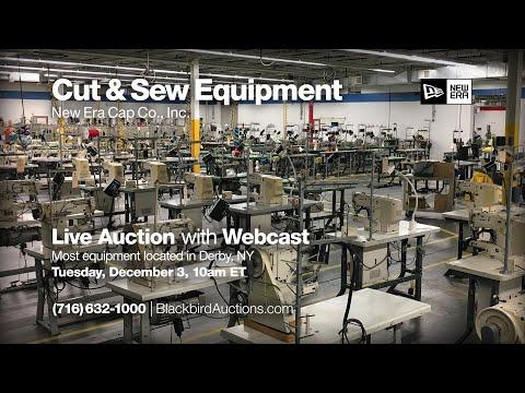 Cut & Sew Equipment Auction