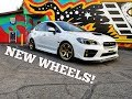 NEW WHEEL SETUP FOR THE WRX *THEN THIS HAPPENED*