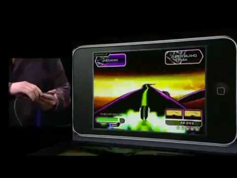 Tapulous' Riddim Ribbon iPhone Game Video