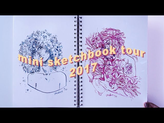 an old sketchbook from 2017 // sketchbook tour 11