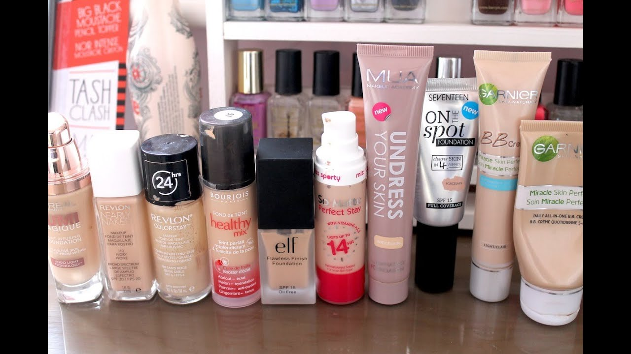 Best full coverage foundation drugstore uk