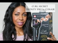 HOW TO CURL YOUR HAIR USING CONAIR'S CURL SECRET | Dominique of Style Domination