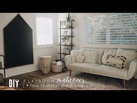 DIY Playroom Makeover