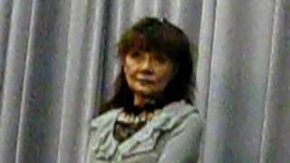 永遠の緑 魔子さん!森崎東監督の映画祭でのインタビュー。 土曜日夕方...