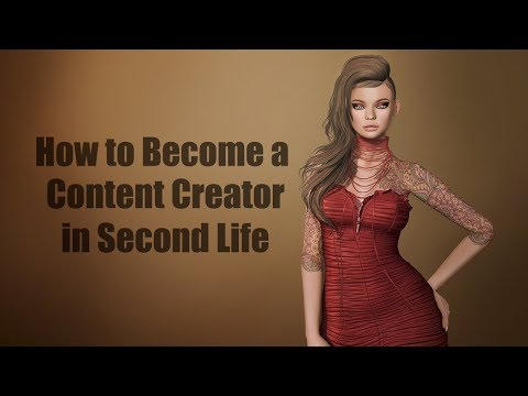 How to Become a Content Creator in Second Life – StrawberrySingh com