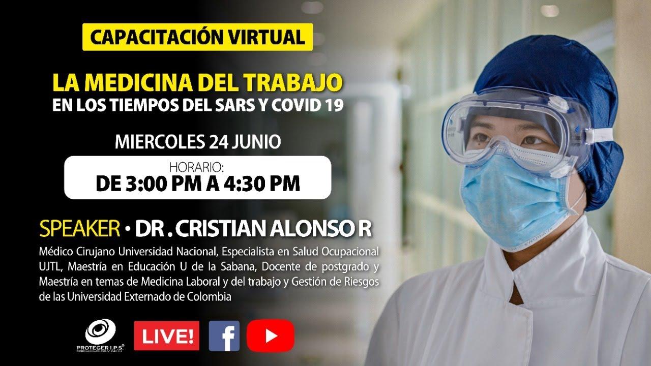 EXÁMENES  MÉDICOS  OCUPACIONALES - MEDICINA DEL TRABAJO EN LOS TIEMPOS DE COVID 19  - CAPACITACIÓN