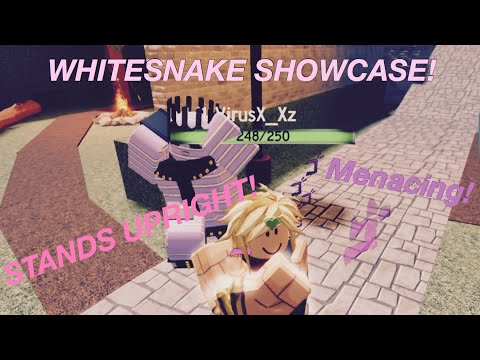 Roblox White Snake Showcase Stand Upright Youtube