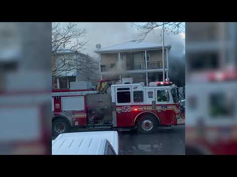 Dramatic video captures fatal fire in Mariners Harbor