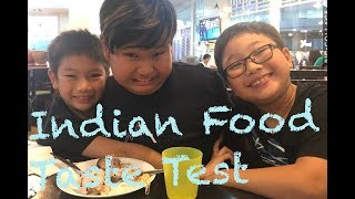 Kids Try Indian Foods