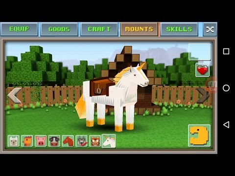 Exploration Craft 'CanadaDroid' Gameplay # 16 (2nd Series) | How To Mount A White Horse |