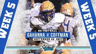 HS Football | Gahanna at Dublin Coffman [9/22/17]