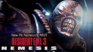 Resident Evil 3 - Nuevo PB Speedrun Nemesis% 48:59