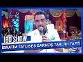 İbrahim Tatlıses Sarhoş Taklidi Yaptı - İbo Show
