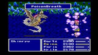 Final Fantasy V Anthology - Shinryu