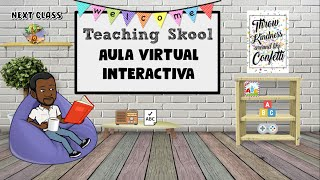 Aulas virtuales interactivas con Bitmoji // Teaching Skool