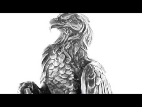 APMEX Silver Statues | 20 oz Silver Antique Statue - American Silver Eagle