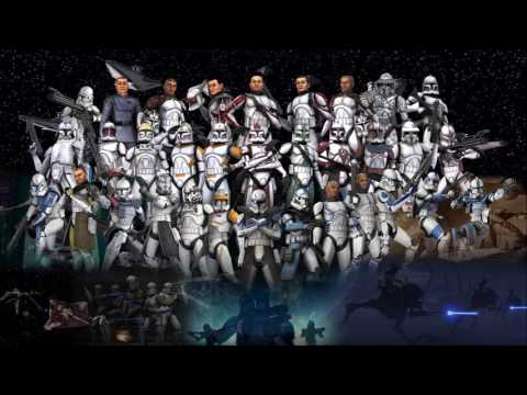 Star Wars Republic Army Theme  |March On The Jedi Temple|