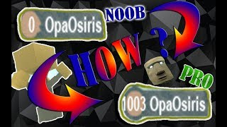 HOW TO GET LVL 1003 EASILY ?! - Roblox Booga Booga