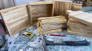 Construction Scrap Cutting Board And Tray Diy Wnw