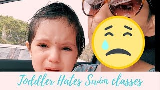 Toddler hates Swim Lessons | Scared of Water