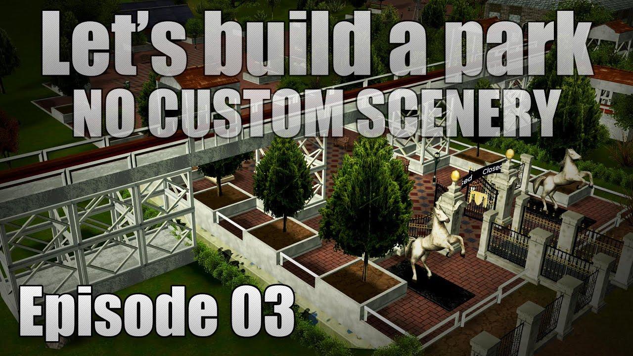 RCT3 - Building The Default Park II - Episode 03