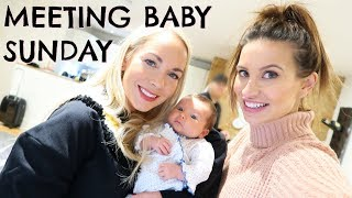 MEETING BABY SUNDAY AND FERNE MCCANN  |  VLOGMAS DAY 8