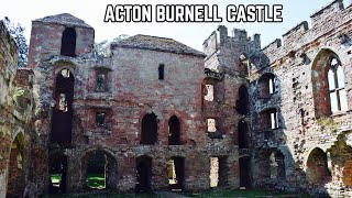 HISTORICAL CASTLE Part Of The ENGLISH HERITAGE, Acton Burnell Castle | Explore With Shano