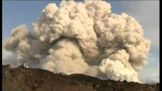 Live Footage Iceland Volcano 2010 April