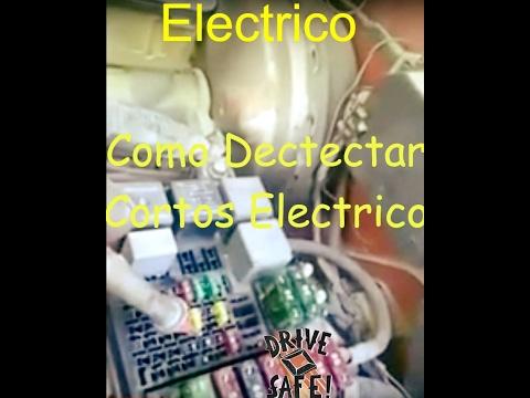 Como detectar un corto circuito Eléctrico. Fácil con estos tips.How to detect an electric short