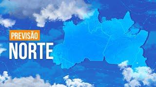 Previsão Norte - Chuva volumosa em Roraima e tempo firme no TO