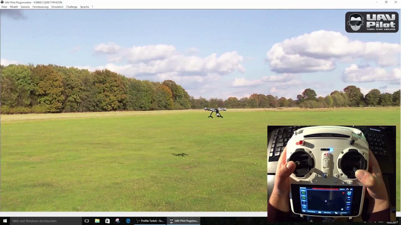 UAV Pilot Flugsimulator für Yuneec Multikopter YUNSIM Yuneec