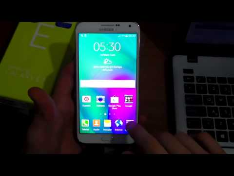 Samsung Galaxy E7 Kutu Açılımı İnceleme