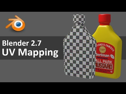Blender 2.7 UV Mapping 1 of 4