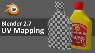 Blender 2.7 UV Mapping 1 of 4