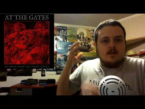 At The Gates - To Drink From The Night Itself Album Review - Plugged On Reviews
