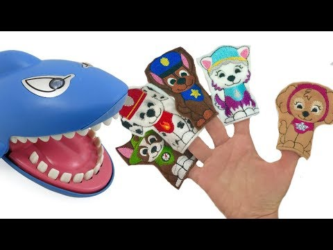 Best Learning Colors with Paw Patrol Shark Dentist Family Finger Song | Fizzy Fun Toys