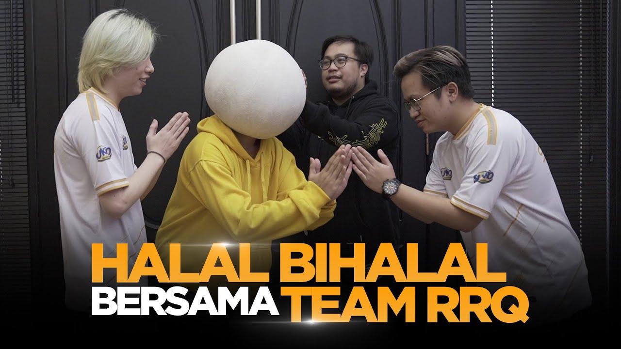 Halal Bihalal Bersama Team RRQ Dan Mas Sukro