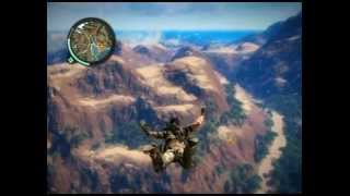 (Just cause 2) Base jump country