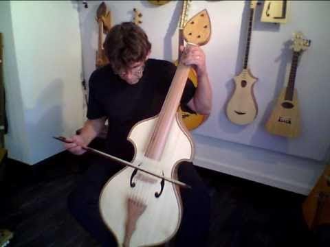 basse de viole de philipe berne luthier youtube. Black Bedroom Furniture Sets. Home Design Ideas