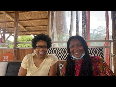 How to travel the world and work online with Halona Black in Kigali Rwanda